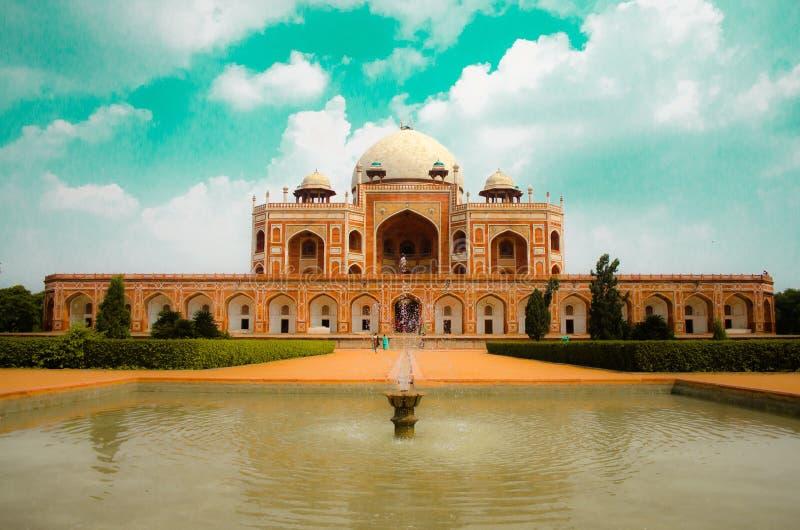 Humayun Tomb Delhi fotografia stock libera da diritti
