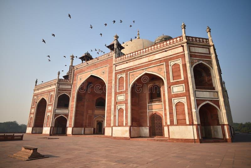 Humayun Tomb, Delhi, India stock photo