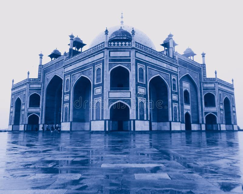 Humayun Tomb in Delhi India, Humayun Tomb close view, Delhi Tourism, Delhi Darshan, Indian Tourism. Humayun Tomb in Delhi India, Humayun Tomb close view, Delhi royalty free stock photos