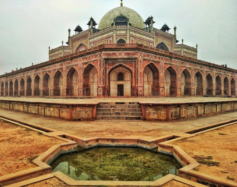 Humayun tomb india royalty free stock image