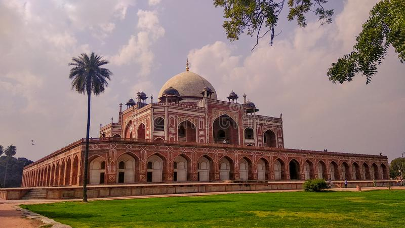 Humayun tomb monument in Delhi royalty free stock photos