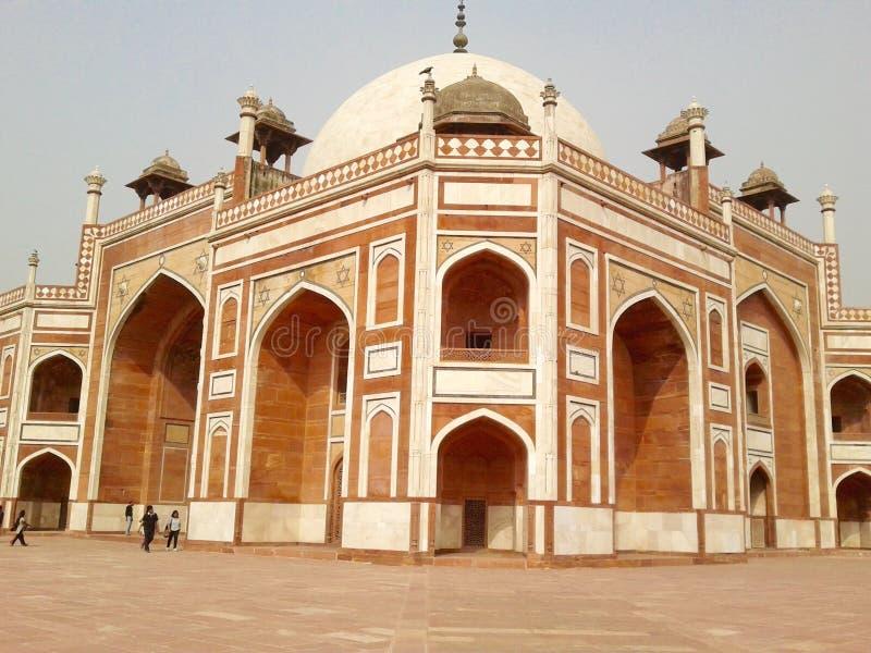 Humayun Tomb, Neu-Delhi Indien lizenzfreies stockbild