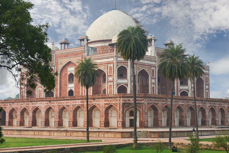 Humayun Tomb New Delhi, la India fotografía de archivo libre de regalías