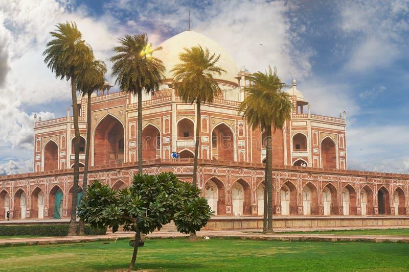 Humayun Tomb New Delhi, la India foto de archivo