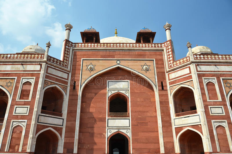 Humayun Tomb Nova Deli, India fotos de stock royalty free