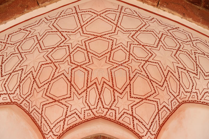 Humayuns Grab, Delhi lizenzfreies stockbild