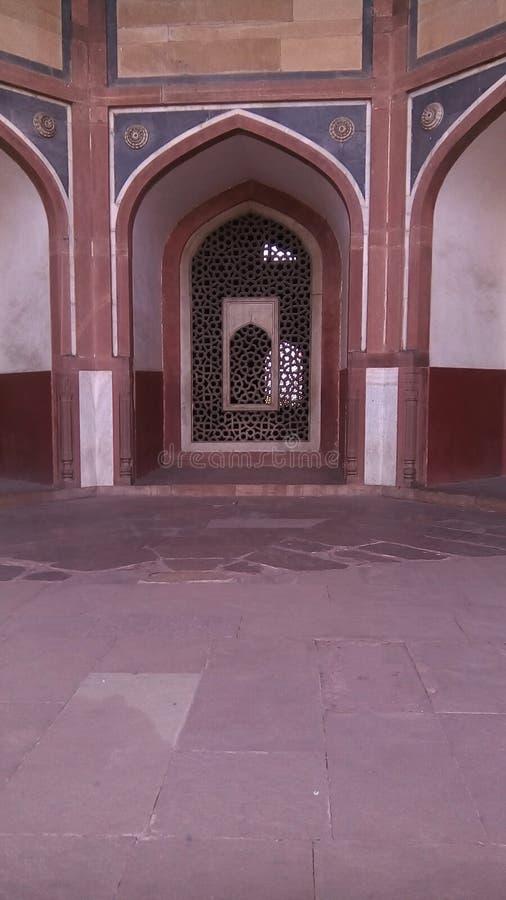 Humayuns-Grab in Delhi, Indien lizenzfreie stockbilder