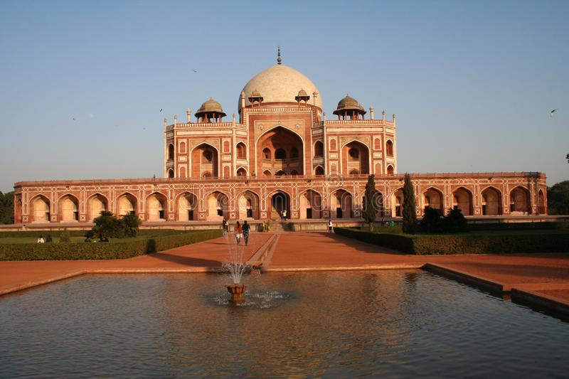 Download Humayuns Tomb stock image. Image of sandstone, tomb, india - 6078467