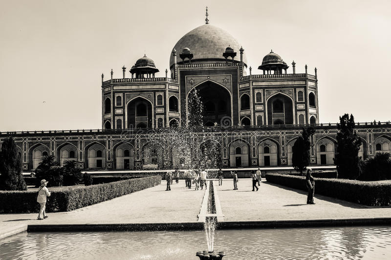 Humayus tomb royalty free stock images