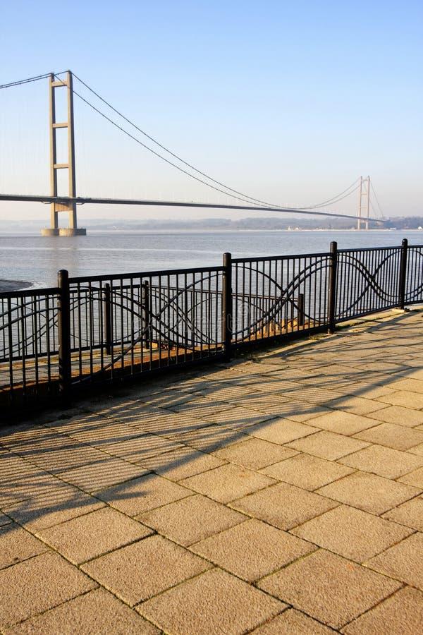 Humber Bridge royalty free stock photos