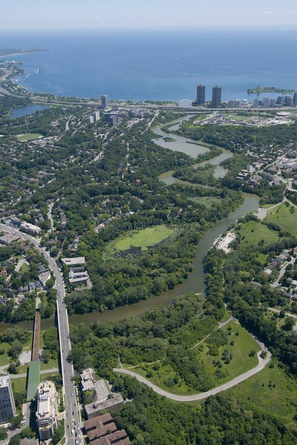 Humber Fluss Toronto lizenzfreie stockfotos