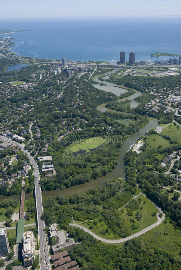 humber rzeka Toronto zdjęcia royalty free