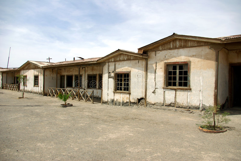 Download Humberstone - Ghost Town In Chile Stock Image - Image: 5504149