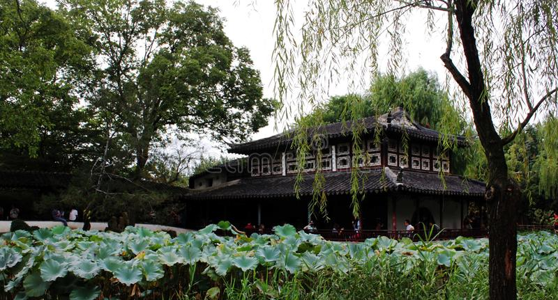 Humble Administrator Garden. A picture of Humble Administrator Garden in spring,it`s a very beautiful garden in suzhou China stock photography