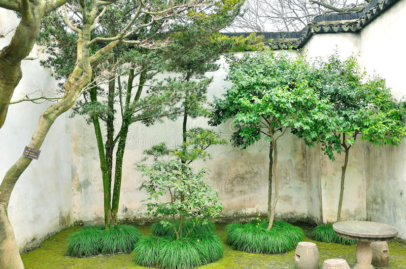 Humble Administrator's Garden royalty free stock image
