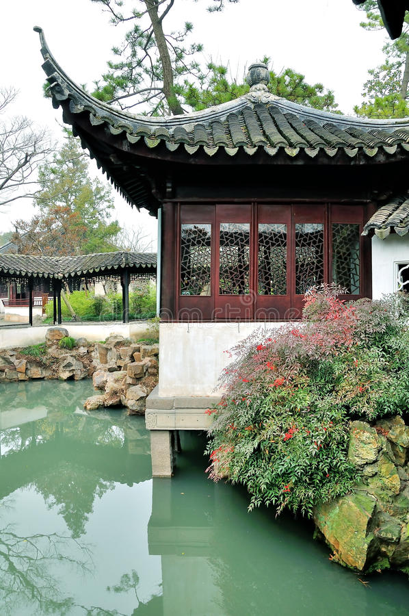 Humble Administrator's Garden royalty free stock photography