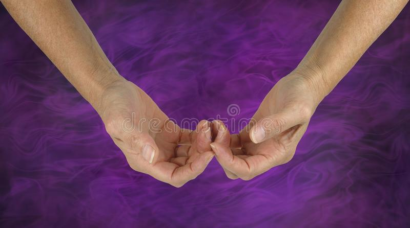 The Humble Healer stock photo