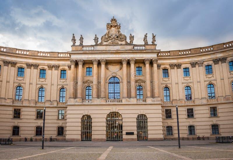 Humboldt Universitair Berlijn, Duitsland stock afbeelding