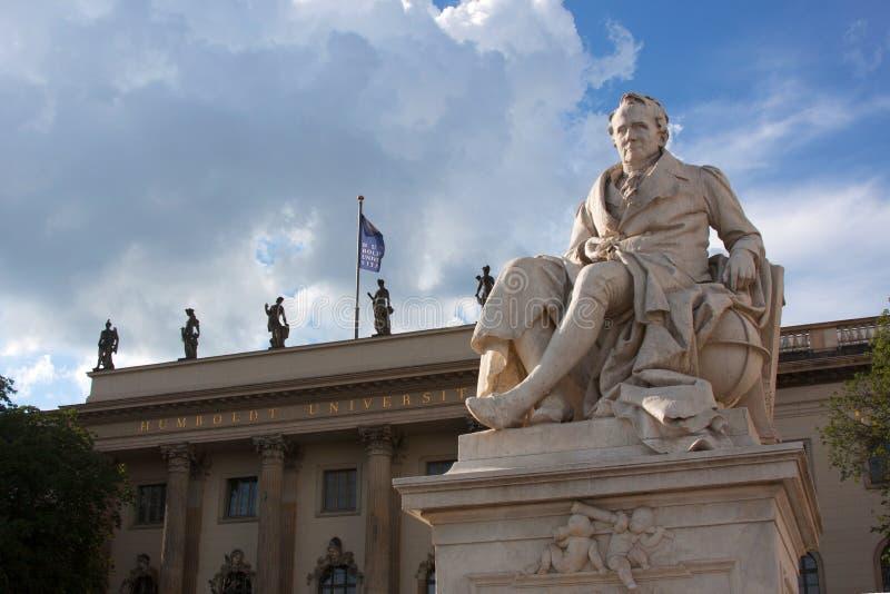 Humboldt-universiteit in Berlijn royalty-vrije stock afbeelding