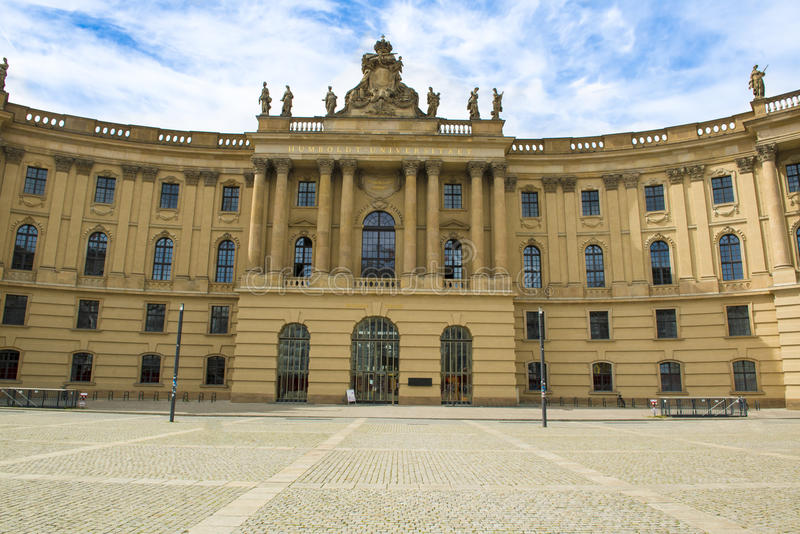 Humboldtuniversiteit, Berlijn royalty-vrije stock foto's