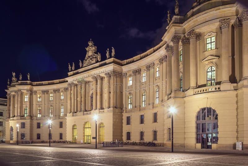 Humboldtuniversiteit van Berlijn, Duitsland stock afbeeldingen