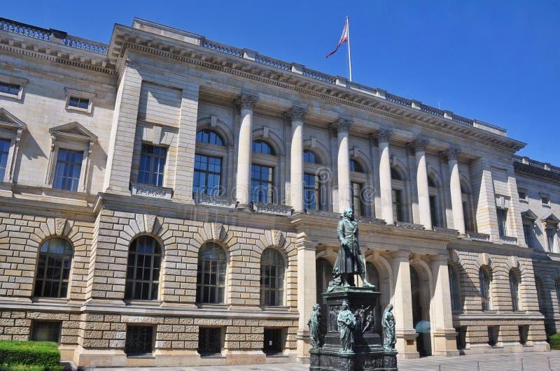 Humboldtuniversiteit van Berlijn, Duitsland stock afbeelding