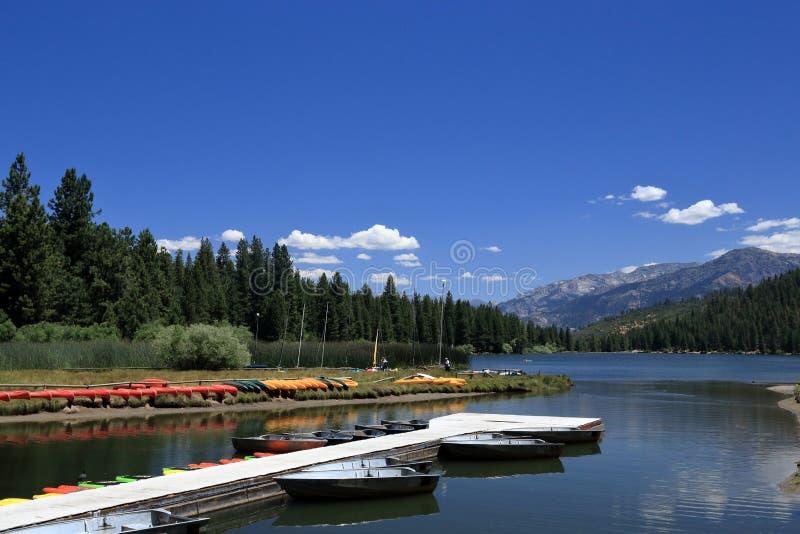 Hume Lake royaltyfria foton