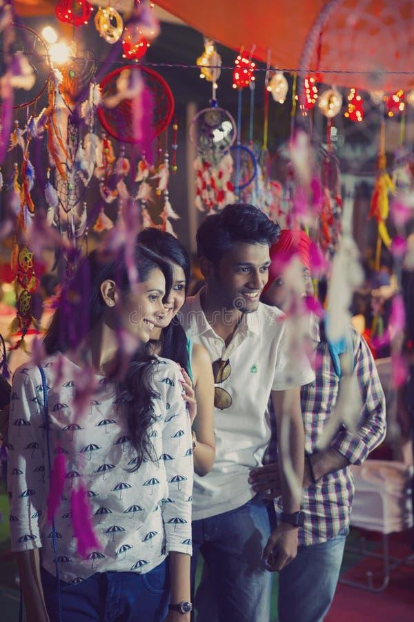 Humeur de Diwali à Delhi photos stock