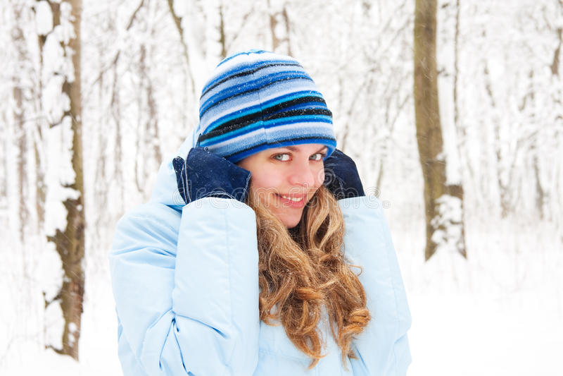 Humeur de l'hiver photographie stock