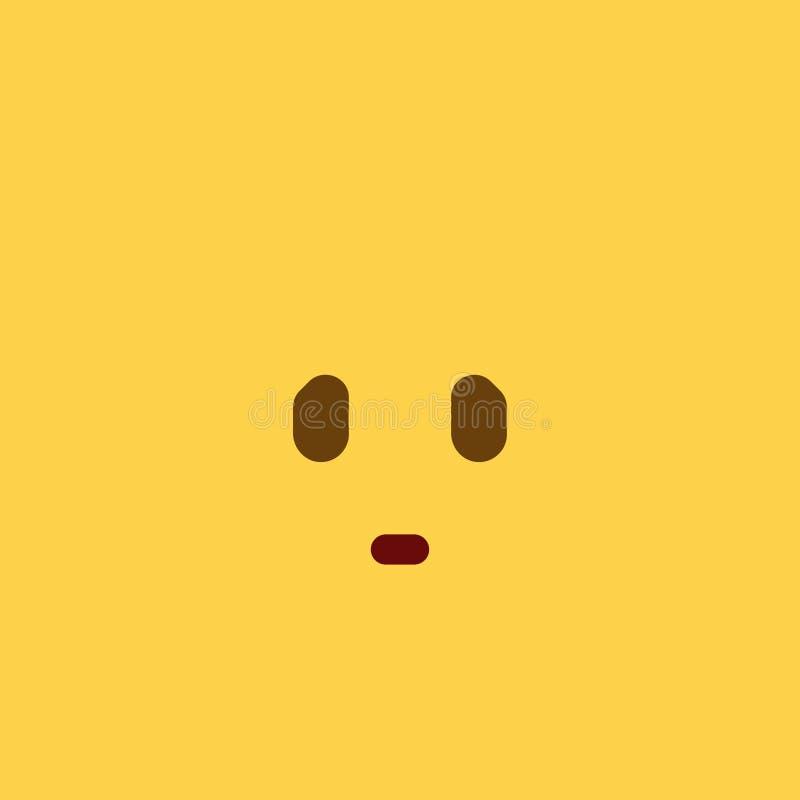 humilhe o estilo Emoji da telha imagens de stock