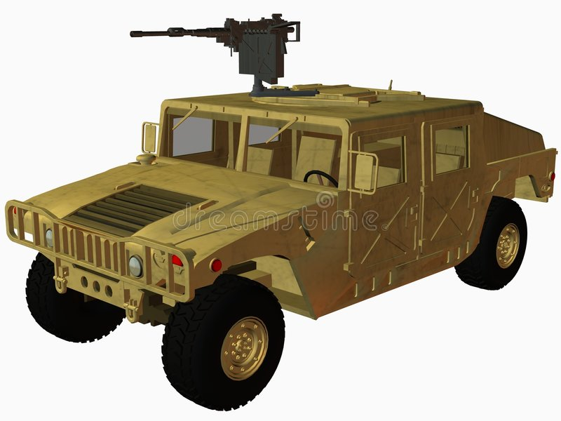 Hummer libre illustration