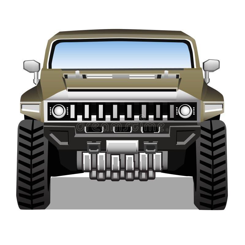 Hummer ilustração stock
