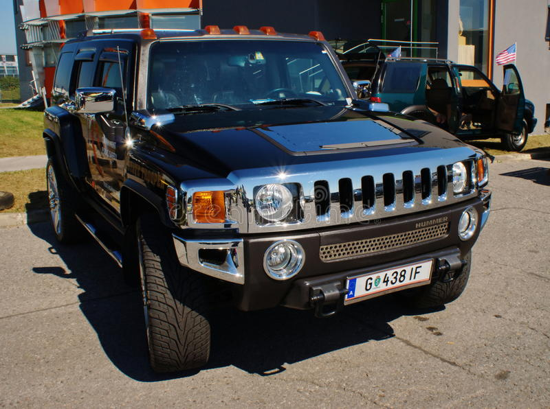 Hummer royalty free stock photo