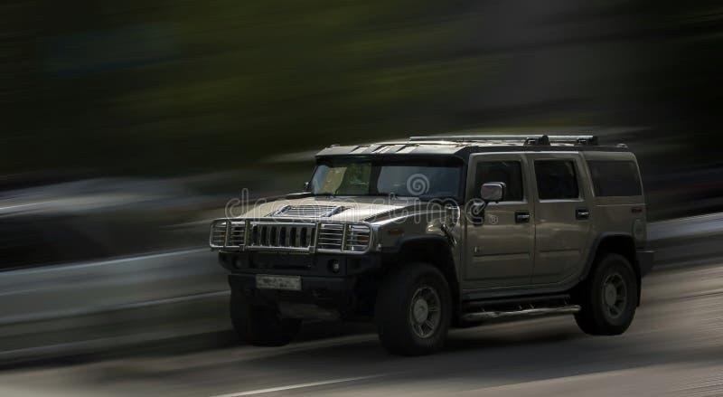 Hummer car. royalty free stock image