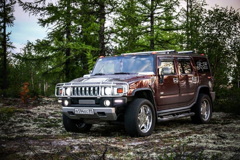 Hummer H2 royalty-vrije stock fotografie