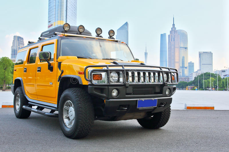 Hummer H2 immagine stock