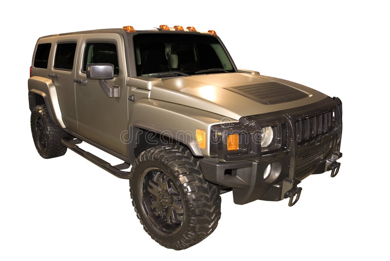 Hummer H3 SUV Stock Images