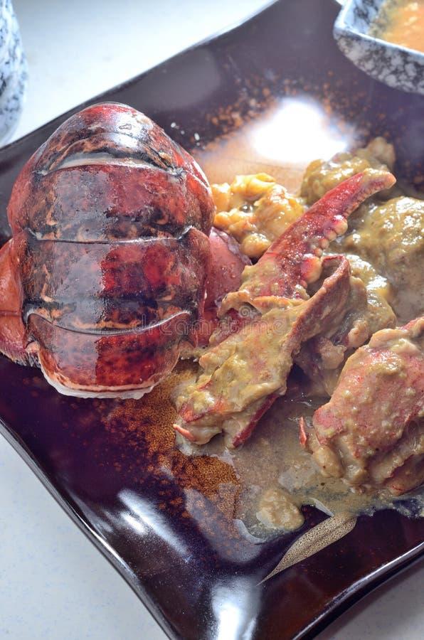 Hummer och krabba arkivbilder
