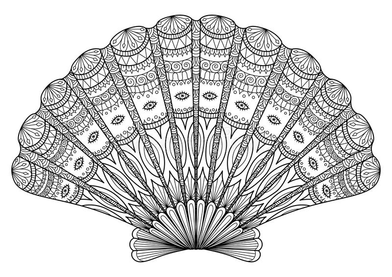 Hummerlinje konst stock illustrationer