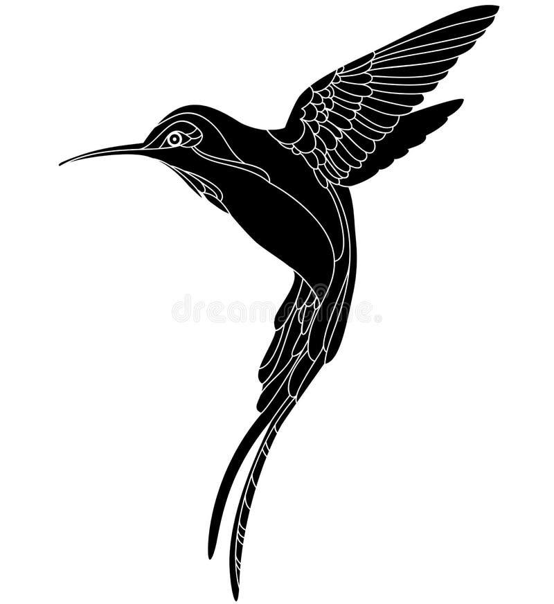 hummingbird 2 иллюстрация вектора