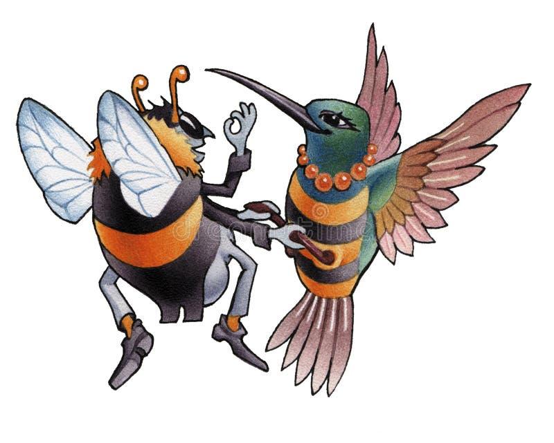 Hummingbird_5 lizenzfreie abbildung