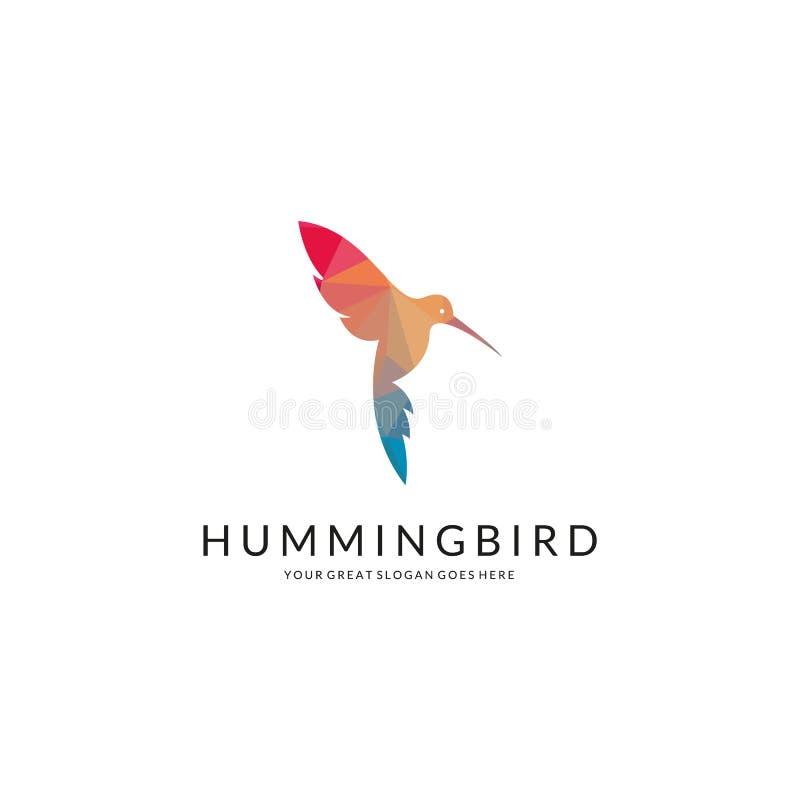 Hummingbird logo ilustracji