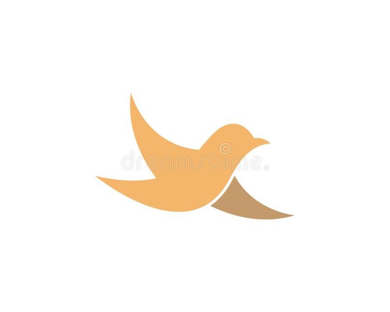 Bird symbol illustration stock illustration