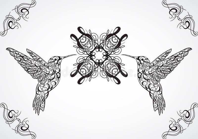 Hummingbird. Tattoo art. Retro banner, invitation,card, scrap booking. t-shirt, bag, postcard, poster. Highly detailed vintage style hand drawn vector vector illustration