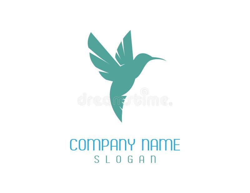 Hummingdbird logo royalty ilustracja