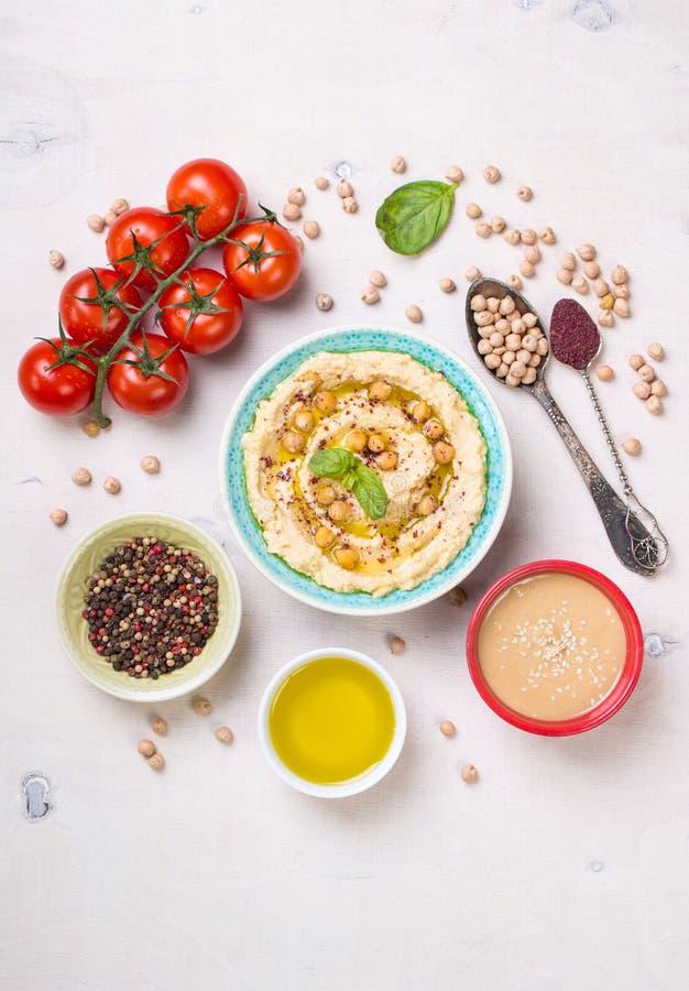 Hummus成份 图库摄影