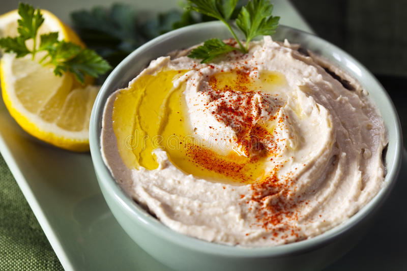 Hummus photographie stock