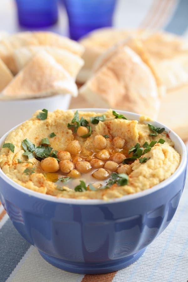 Hummus arkivfoton
