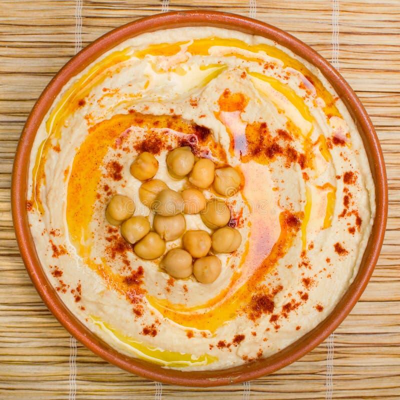 Hummus royaltyfria bilder