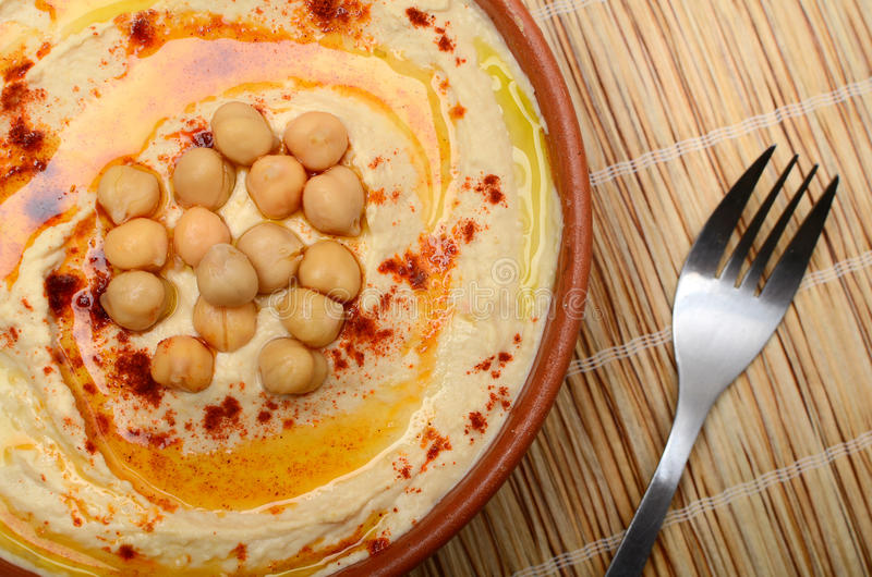 Hummus royaltyfri bild